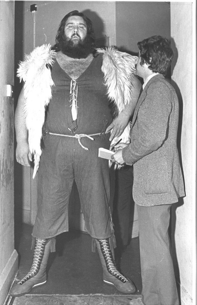 John Phillips and Giant Haystacks