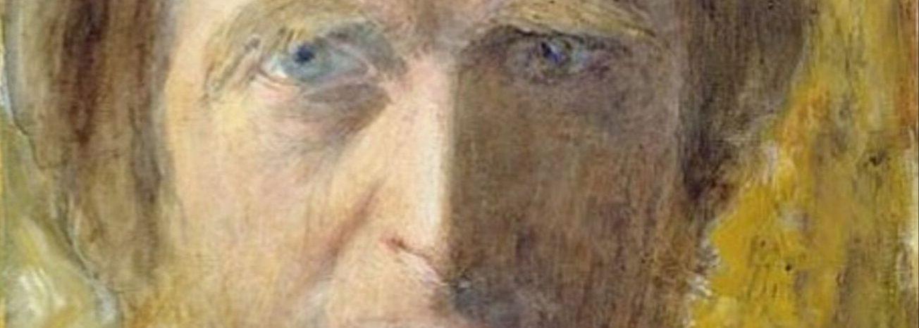 John Ruskin self portrait