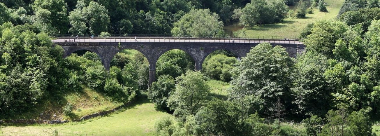 Monsal Head Viaduct Derbyshire