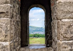 Window over Solomons Temple