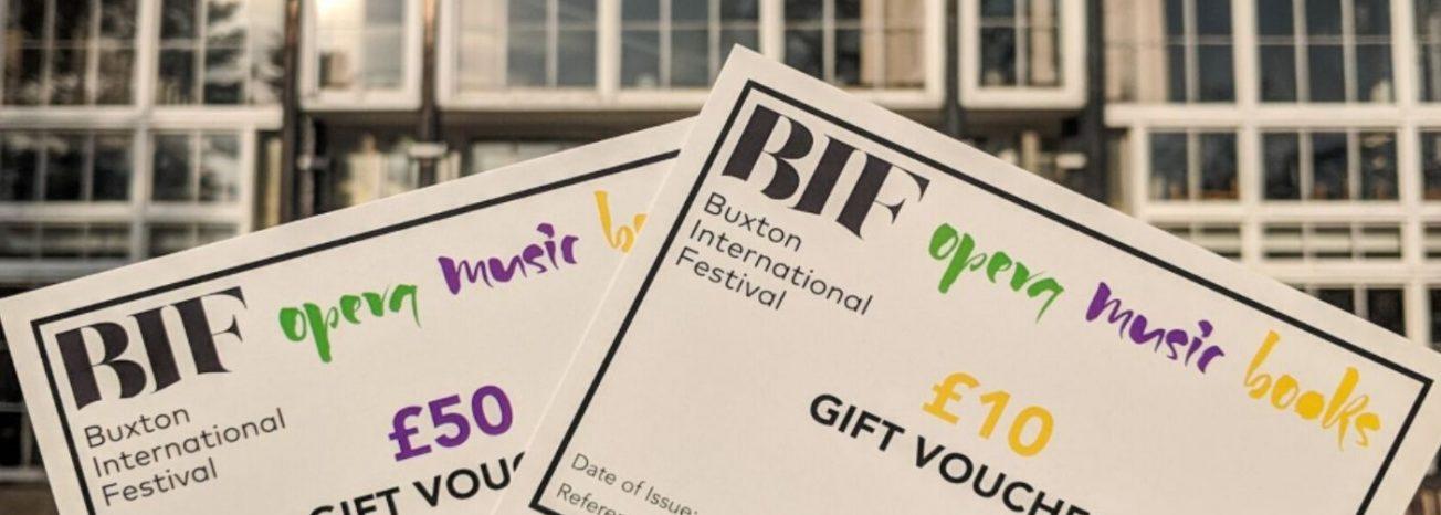 Buxton International Festival Gift Voucher